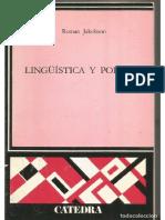 Roman Jakobson. Linguistica y Poetica
