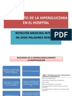 TRATAMIENTO DE LA HIPERGLUCEMIA