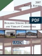 2007 AAEDC Annual Report