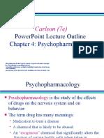 LESSON-4 PSYCHOPHARMACOLOGY
