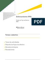 Estado de Flujo de Efectivo IAS 7