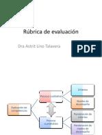 RUBRICAS UPEU