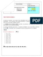 6. Matemáticas . III Periodo. Múltiplos y Divisores. 21-07-2020