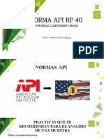 norma API RP 40