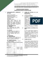 ESPECIFICACIONES TECNICAS N°1 - ASFALTO LIQUIDO