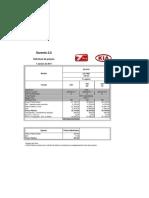 Kia Sorento 2.0 4x2 (Tabela de Preços - Janeiro 2011)
