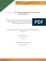 Ensayo sobre la relación del Estado de Situación Financiera y la estructura de los Estados Financieros nrc 19950