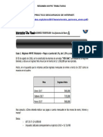 regimen mype tributario caso practico