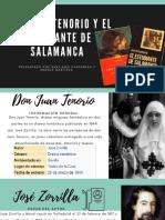 Don Juan Tenorio y El Estudiante de Salamanca