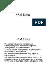 HRM Ethics Presentation
