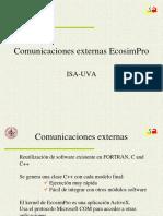 3. Comunicaciones externas EcosimPro