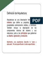 Arquitectura 1p