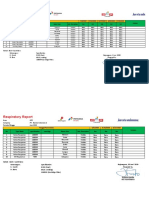 Respiratory Respiratory report