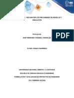 UNIDAD 1 PASO 0 - RECONOCER LOS PRE-SABERES DE MODELOS Y SIMULACIÓN