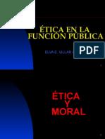 ETICA  EN LA ADMINISTRACIÓN PÚBLICA..ppt