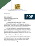 National Black Chamber of Commerce Letter to Chairman Issa - December 28, 2010