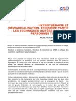 cf2r.org-Hypnothérapie et déradicalisation Troisième partie les techniques usitées par les personnes toxique
