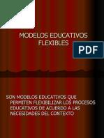 MODELOS EDUCATIVOS FLEXIBLES