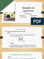 Ejemplos de exposición - dia 09-09-20