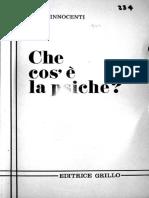 O que é a Psique? (1978) Ennio Innocenti
