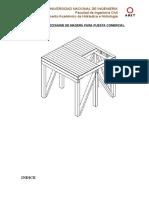 Diseño de Un Mezzanine de Madera Para Puesta Comercial