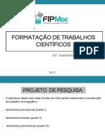 fORMATAÇÃO DE TRABALHOS CIENTIFICOS-1