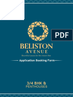 Application Booking Form