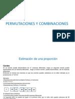 Clase 15 PERMUTACIÓN Y COMBINACIÓN