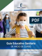 GUÍA EDUCATIVO SANITARIA DE INICIO DE CURSO CLM