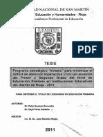 Programa estratégico - Kinesis - para minimizar el déficit de atención.pdf