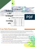 funciones trigonométricas del triángulo rectángulo