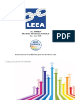LEEA-036(a) - Academy Practical Training Courses Jan - June 2020  Version 1 October 2019.docx