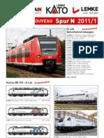 Catalogo Hobbytrain 2011