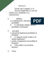 Ghid de interviu-reformulare prostitutie