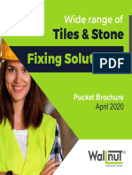 Tile and Stone Fixing Solutions