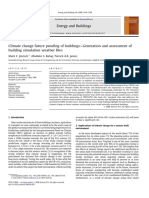 Climate change future proofing of buildings—Generation and assessment of building simulation weather files