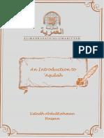 Introduction to 'Aqidah by Ustad AbdulRahman Hassan