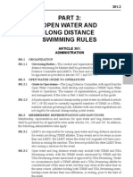 USMS Open Water and Long Distance Swimming Rules
