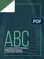 CARTILLA PGN ABC CONCILIACIÓN EXTRAJUDICIAL ADMINISTRATIVA ESTADO DE EMERGENCIA COVID 19