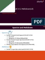 Spectre(v1 v2 v4) v.S. Meltdown(v3)