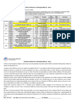 Ficha presença e relatório Capela