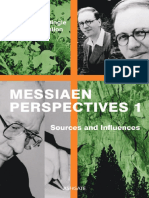 Messiaen Perspectives 1 Sources and Influences