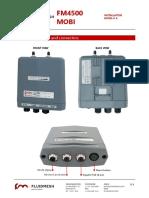 Fluidmesh FM 4500 MOBI installation instructions v1.4