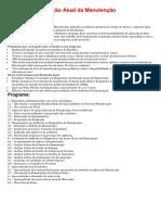 IESAE - Diagnóstico Situação Atual da Manutenção
