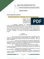 INSTRUÇÃO NORMATIVA Nº 27-2020-DNIT SEDE DE 30 DE JULHO DE 2020