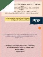 La Investigación Acción Como Alternativa viable para la Mejora de la Practica Educativapptx