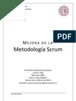 Mejora de La Metodologia Scrum-Martin Casamayor