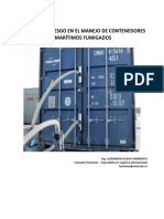 ARTICULO TECNICO FACTORES DE RIESGO EN EL MANEJO DE CONTENEDORES MARITIMOS FUMIGADOS