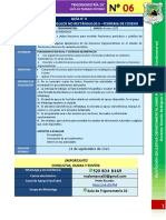 Guía de Trabajo TRIGONOMETRÍA 10°- N° 6