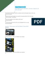 Optical Distribution Frame Solutions